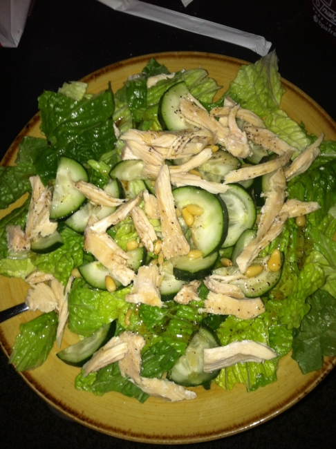 Day Two Lunch: Greek Chicken Salad