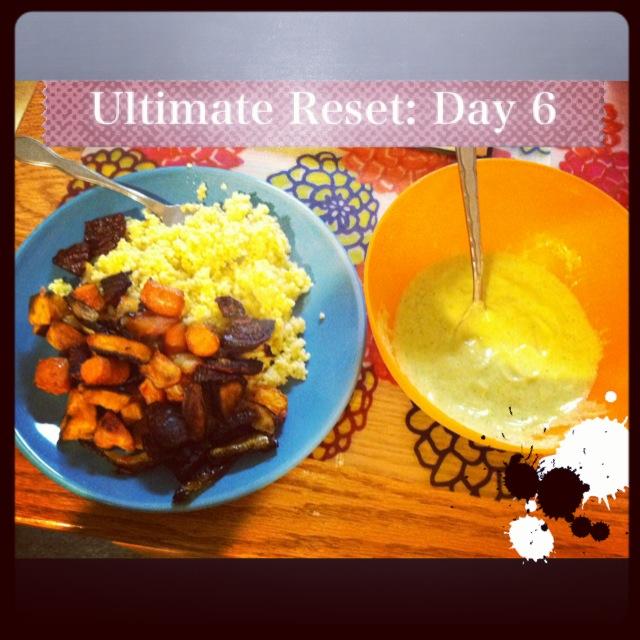 Day Six Dinner
